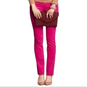 J. Crew Size 28 Matchstick Stretch Pink Co…